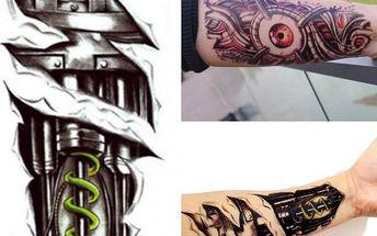 3D tetování Dangerous