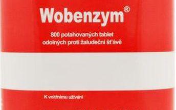 Wobenzym 800 tablet + Doprava ZDARMA + Poukaz na 2 dárky ZDARMA