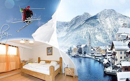 Last minute Rakousko, Alpy na 4 dny pro dva vč. snídaní a skibusu poblíž ski střediska Dachstein v TOP sezóně!