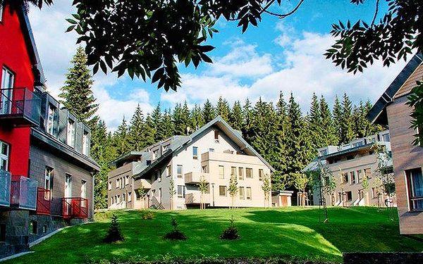 Zimní pobyt pro 2 s all inclusive a wellness v hotelu Resident Harrachov v Krkonoších