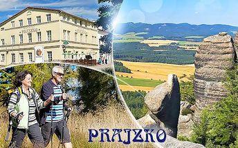 Adršpach na 3 až 5 dní pro 2 osoby s polopenzí, drinkem a vstupem do Adršpašských skal nebo pevnosti Dobrošov!