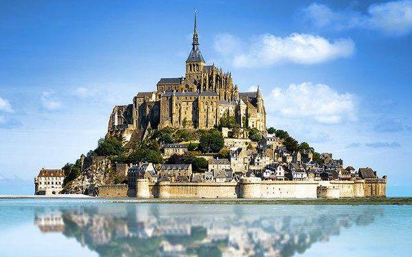 5denní zájezd do Paříže a na 8. div světa Mont Saint Michel pro 1 osobu