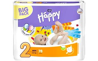 Plenky Bella Baby Happy Mini Big Pack 78 ks Svačinový box Bella Baby Happy (zdarma)