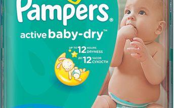 90ks dětských plen Pampers Active Baby 3 Midi 4-9kg