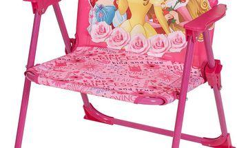 JNH Dětská skládací židle Princezny