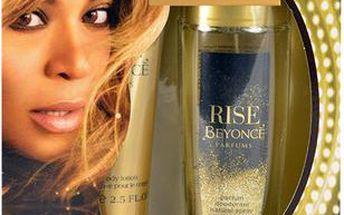 Beyonce Rise dárková sada pro ženy - Deodorant 75ml + 75ml tělové mléko