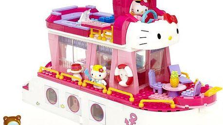 MEGA BLOKS Micro - Hello Kitty výletní loď 525dílků