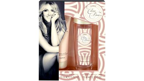 Celine Dion All For Love dárková sada pro ženy - Deodorant 75ml + 75ml tělové mléko