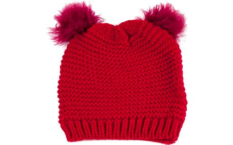 Čepice Ears Red