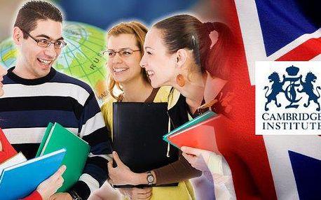 Online kurzy obecné angličtiny s Cambridge Institute! Naučte se anglicky v pohodlí domova díky kurzu, který je veden zajímavou a zábavnou formou! Na výběr máte tři varianty s délkou kurzu 6, 9 nebo 12 měsíců. Angličtina je lepší, když je Cambridge!
