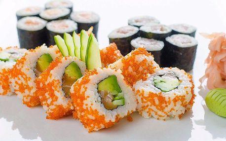 Chutné sushi sety tak akorát pro jednoho