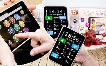 Přehledný tablet pro seniory včetně telefonní aplikace a pouzdra proti poškrábání! Jednoduché ovládání!