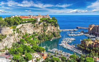 Výlet do Monaka s dopravou tam i zpět