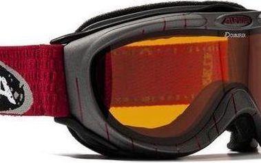 Lyžařské brýle Alpina FreeSpirit, tmavě šedé