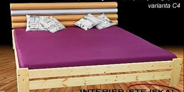 Vysoce kvalitní postel z masivu EURO MAXI s roštem od Českého výrobce. Možnost vybrat čalouněné čelo postele. Osobní odběr v Praze zdarma.