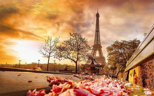3denní zájezd pro jednoho do Paříže s prohlídkou města a plavbou po Seině