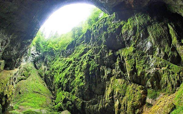 Ubytování v Moravském krasu s prohlídkou jeskyní