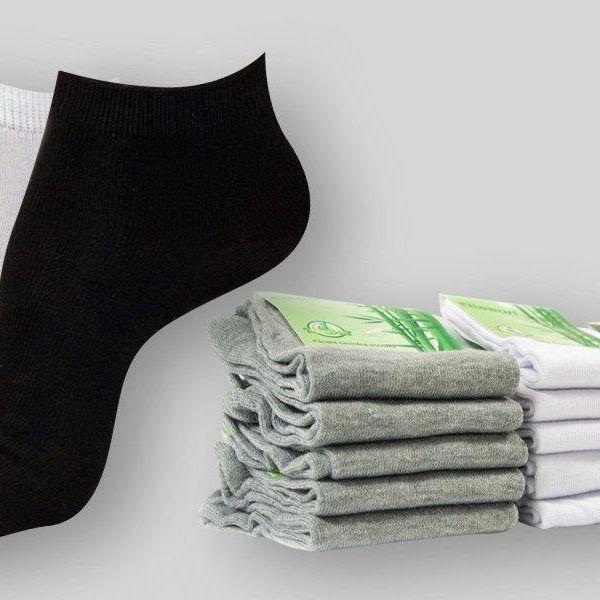15 párů antialergenních ponožek z bambusu