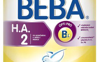 Mléko BEBA HA 2 800g