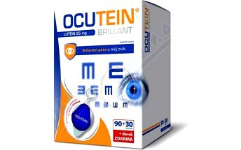 Simply You Ocutein Brillant Lutein 25 mg 120 tobolek