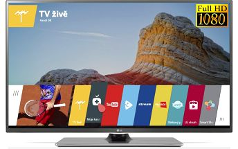 Střední 3D LED televize LG 42LF652V