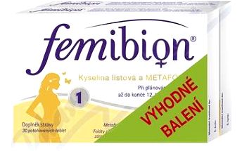 Femibion 1 dvojbalení 2 x 30 tablet