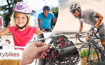 Připravte se na letní sezónu! Seřízení kola v kvalitním servisu Citybikes za Hyper cenu!