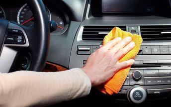 Důkladné čištění interiéru vozu s kontrolou