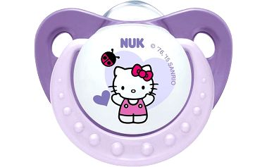 NUK Dudlík Trendline Hello Kitty,SI,V2 (6-18m.), Fialová