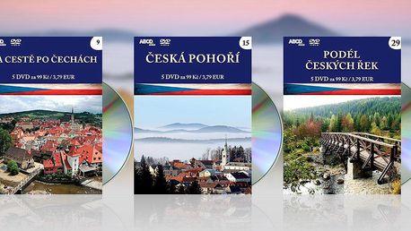 Sady pěti DVD o krásách Česka