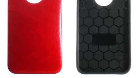 Kryt na mobilní telefon Apple iPhone 5/5S vzor kůže