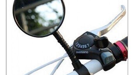 Zpětné zrcátko na jízdní kolo - černá barva - dodání do 2 dnů