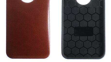 Kryt na mobilní telefon Apple iPhone 5/5S/5C vzor kůže