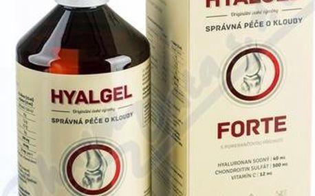 Hyalgel Forte pomeranč 500 ml