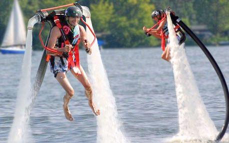 Adrenalin na Jetpacku včetně zaškolení a výbavy