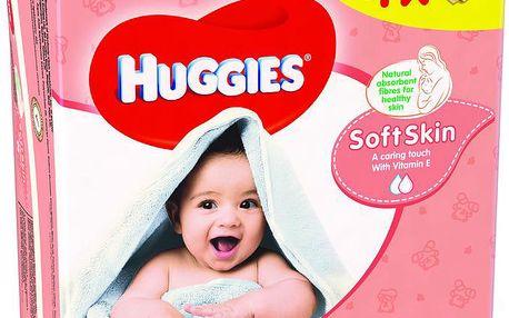 Huggies Soft Skin Quatro Pack (56x4)