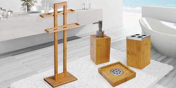 Bambusové doplňky do koupelny
