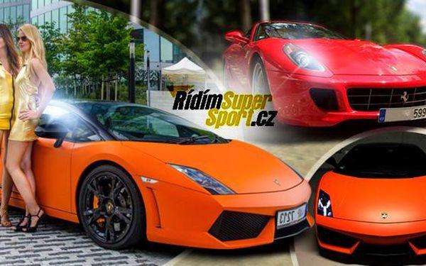 Zážitková jízda v Lamborghini nebo Ferrari včetně paliva! Jako řidič nebo spolujezdec! 10-60 minut po celé ČR!