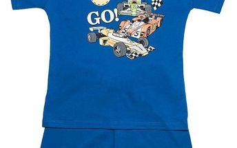 Pettino Chlapecké pyžamo s formulí - modré, 122 cm
