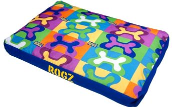 Pohodlný pelíšek ROGZ SPICE PODZ M Pop Art 83x56cm