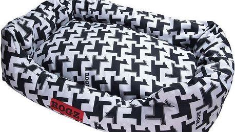 Psí pelíšek ROGZ Spice Podz M pro psy s váhou do 25 kg (72 cm x 45 cm)