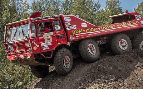 Za volantem gigantické Tatry 813 8X8