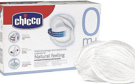 Chicco Prsní vložky 30 ks antibakteriální