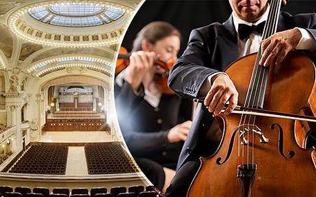Humanitární koncert ve Smetanově síni Obecního domu - Bizet, Smetana, Gershwin a Ravel! Duben, květen a říjen!