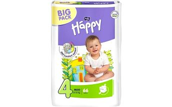 Plenky Bella Baby Happy Maxi Big Pack 66 ks Svačinový box Bella Baby Happy (zdarma)