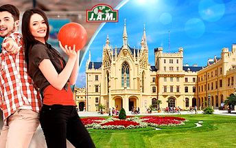 Jižní Morava - Lednice! Pobyt na 3 nebo 4 dny pro 2 osoby s bohatou polopenzí, kulečníkem a bowlingem!