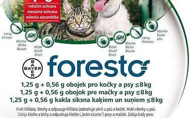 Bayer Foresto 38cm pro kočky a malé psy + Doprava zdarma