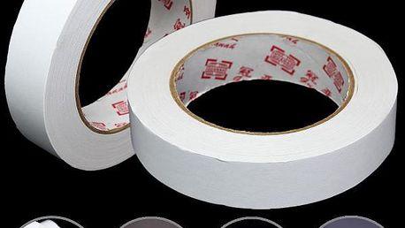 Oboustranná lepící páska - bílá