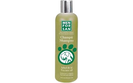 Menforsan Přírodní šampon proti svědění s Tea Tree olejem 300ml