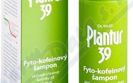 Plantur 39 Kofeinový šampon pro barvené a poškozené vlasy 250 ml